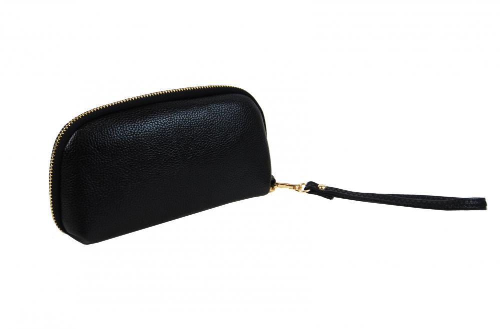 Praktická dámská pouzdrová peněženka černá FD-059