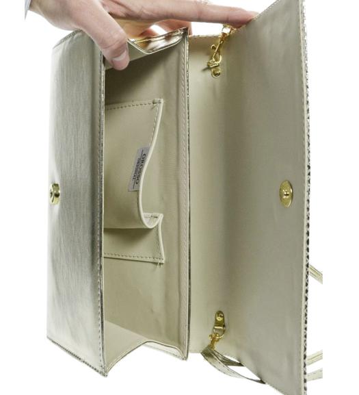 Luxusní zlaté dámské psaníčko SP100 GROSSO