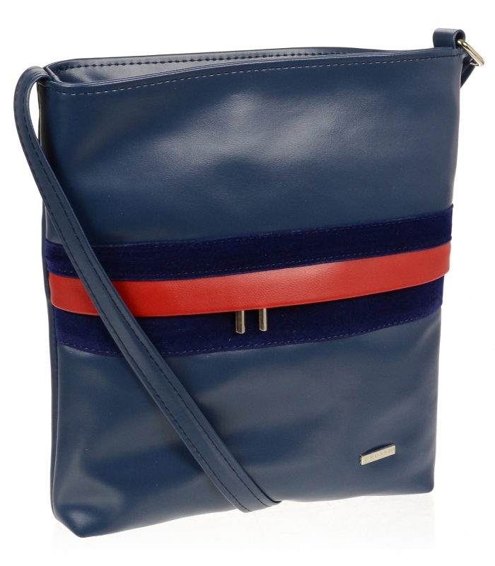 GROSSO modrá crossbody dámská kabelka M189
