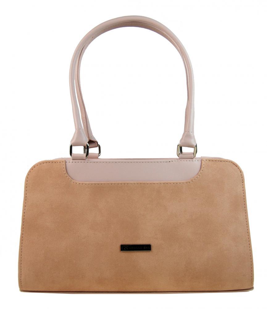 GROSSO Lososová vyztužená luxusní dámská kabelka