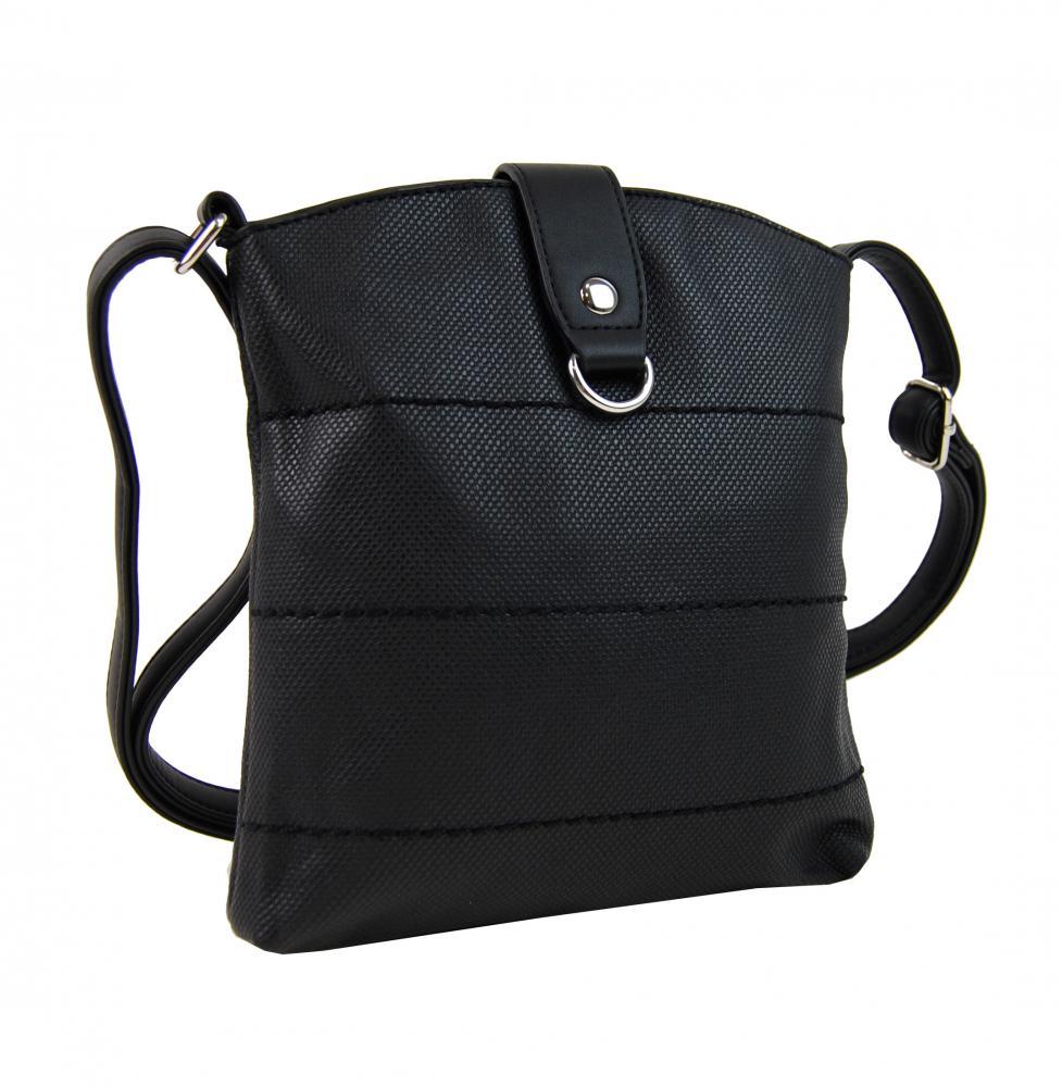 Malá dámská crossbody kabelka H17377 černá