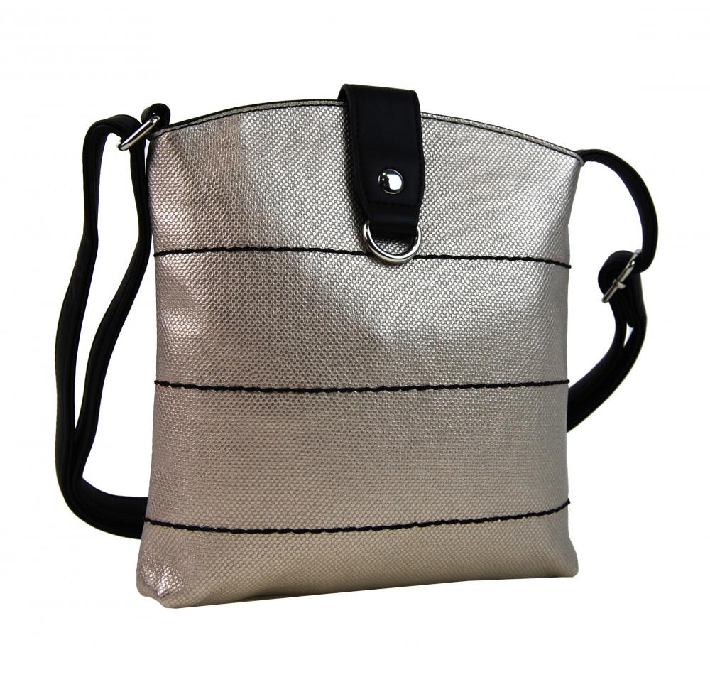 Tapple Zlato-černá malá dámská crossbody kabelka