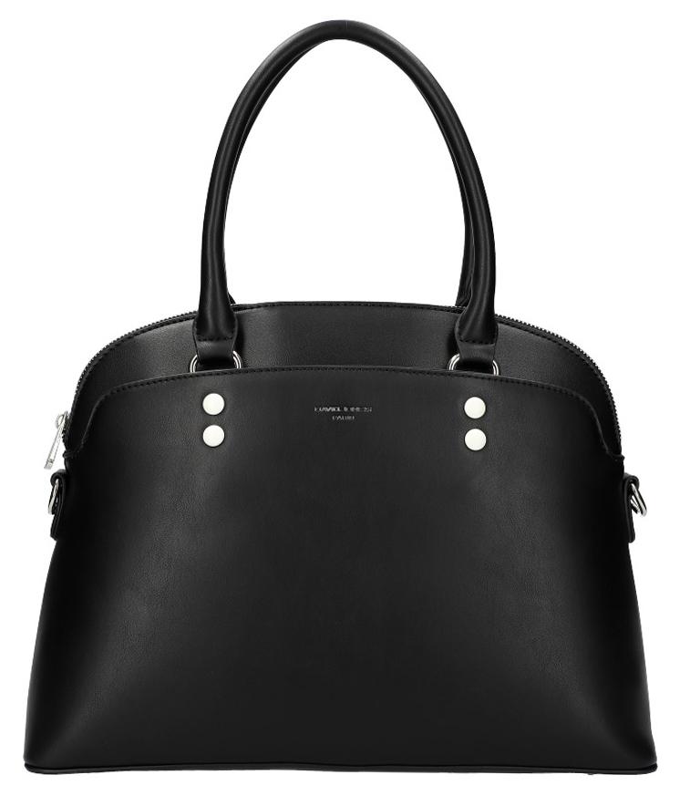 DAVID JONES černá oblá dámská kabelka do ruky CM5640