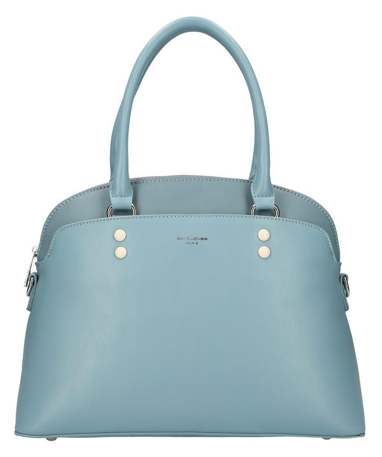 DAVID JONES modrá oblá dámská kabelka do ruky CM5640