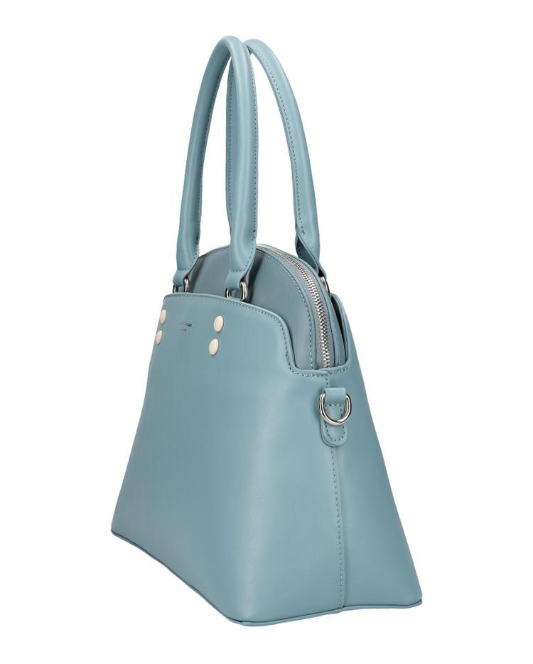 DAVID JONES modrá oblá dámska kabelka do ruky CM5640