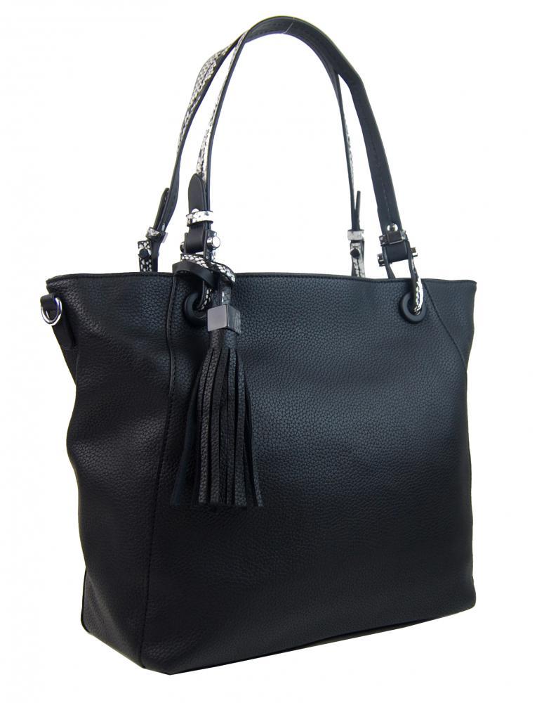 BELLA BELLY Černá dámská kabelka přes rameno 4919-BB