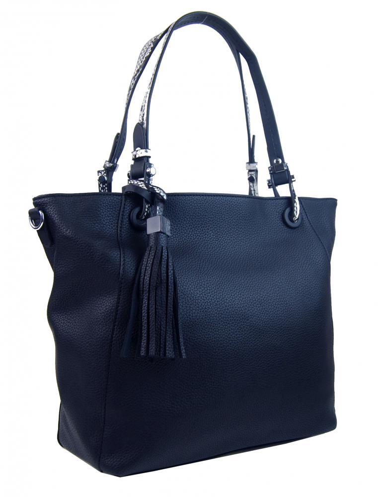 BELLA BELLY Tmavě modrá dámská kabelka přes rameno 4919-BB