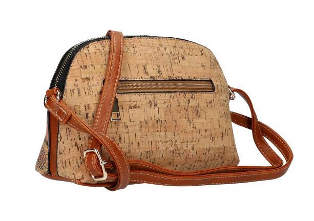 Crossbody dámska kabelka v korkovom dizajne SE250 typ4