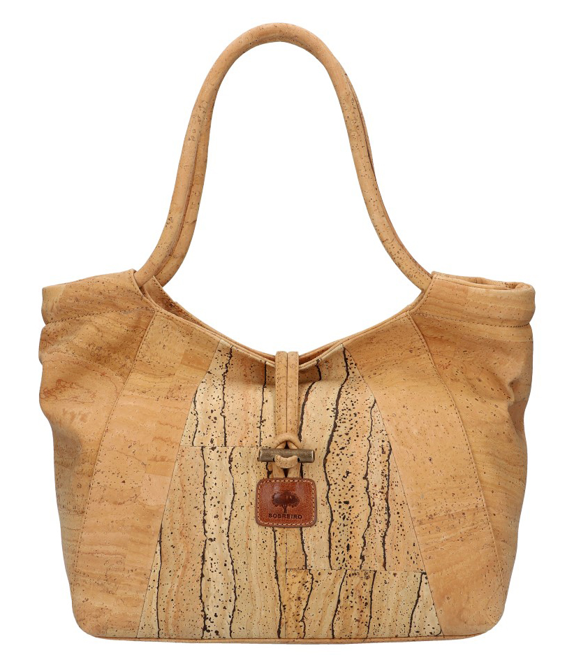 SOBREIRO Korková přírodní dámská kabelka přes rameno M5