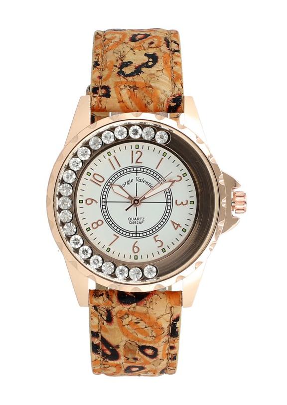 Korkové náramkové dámské hodinky Giorgie TC19045