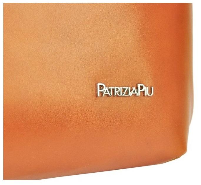 Modrá kožená dámska kabelka Patrizia Piu
