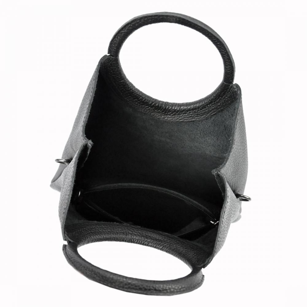 Kožená žlutá moderní dámská kabelka Patrizia Piu