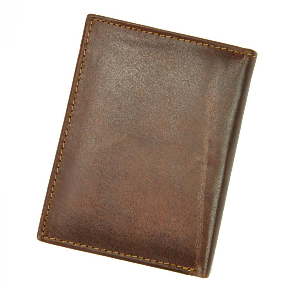 Kožená pánská peněženka hnědá RFID v krabičce BUFFALO WILD