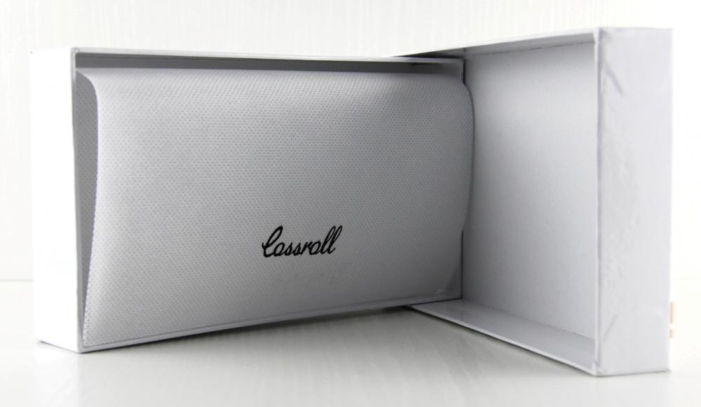 Dámska kroko kožená peňaženka v krabičke Cossroll A16-5242 čierna