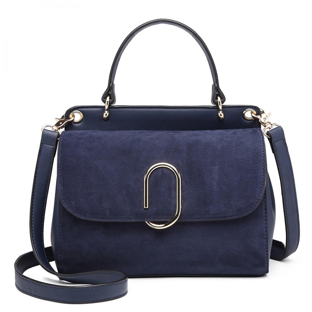 Originálna modrá menšia dámska kabelka Miss Lulu