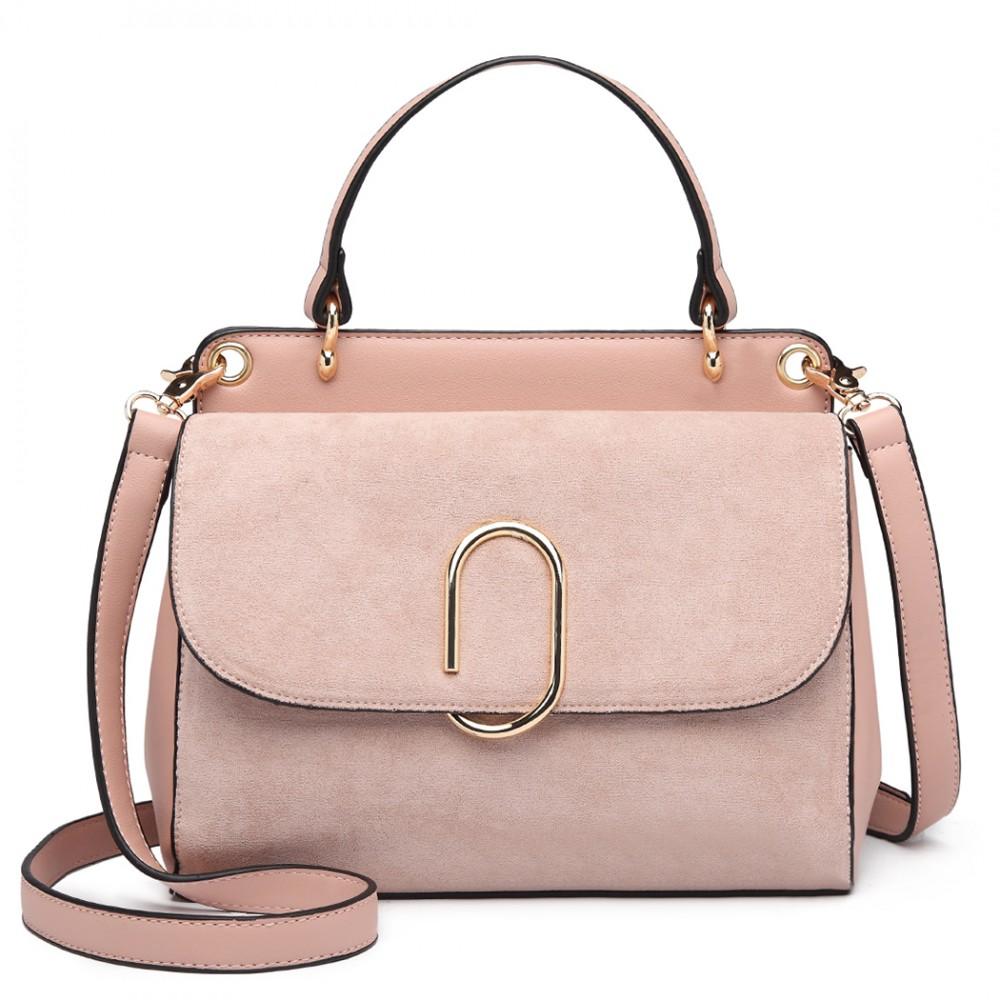 104a81b732 Originálna ružová menšia dámska kabelka Miss Lulu empty