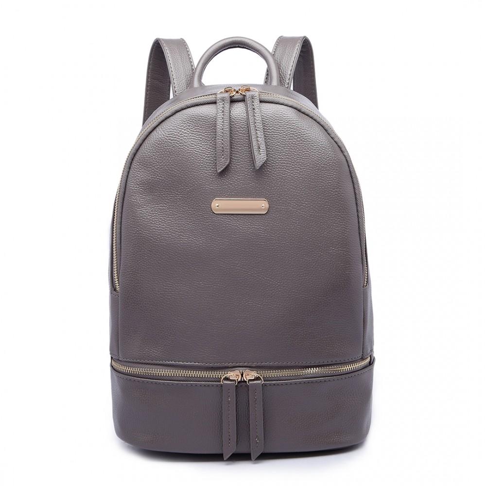 Dámsky elegantný batoh Miss Lulu - Šedý