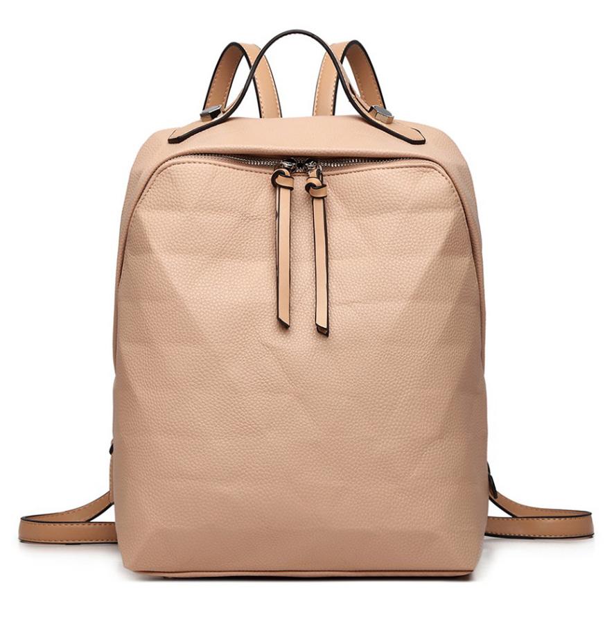 Béžový dámsky elegantný batoh Miss Lulu