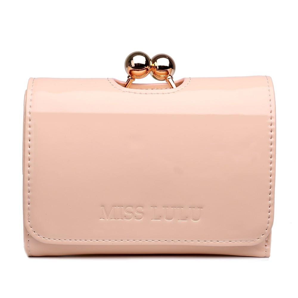 Módna dámska peňaženka púdrový lak Miss Lulu