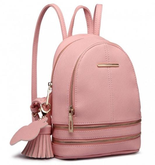 Roztomilý dizajnový ružový dámský batôžtek Miss Lulu