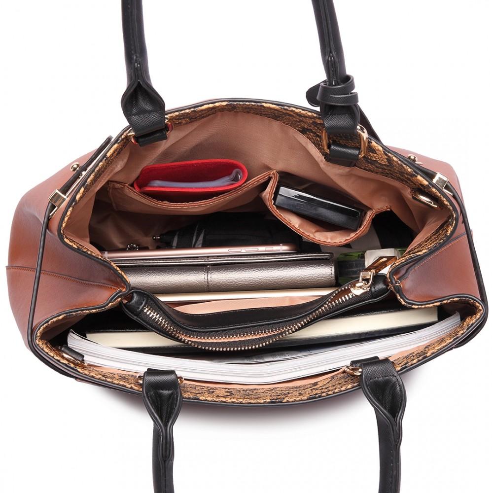 Kompletné špecifikácie · Na stiahnutie · Súvisiaci tovar · Komentáre (0).  Štýlová moderná business kabelka Miss Lulu ... 0b270b655ec
