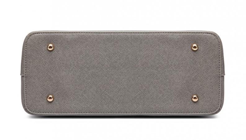 Praktický dámský kabelkový set 3v1 Miss Lulu šedá