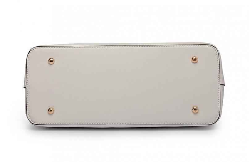 Praktický dámský kabelkový set 3v1 Miss Lulu bílá