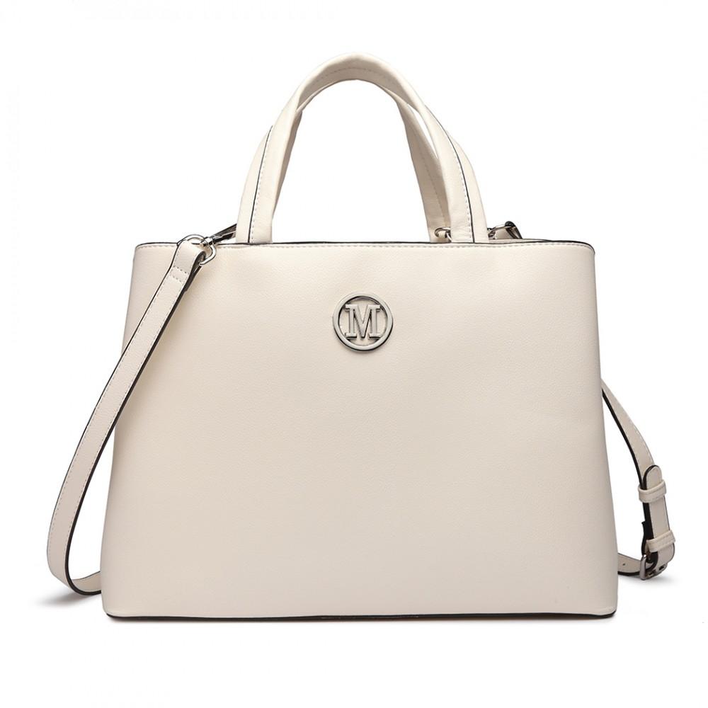 Béžová dámská elegantní kabelka Miss Lulu