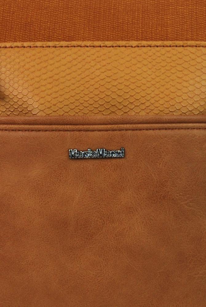Menšia crossbody dámska kabelka 3458-MM hnedá