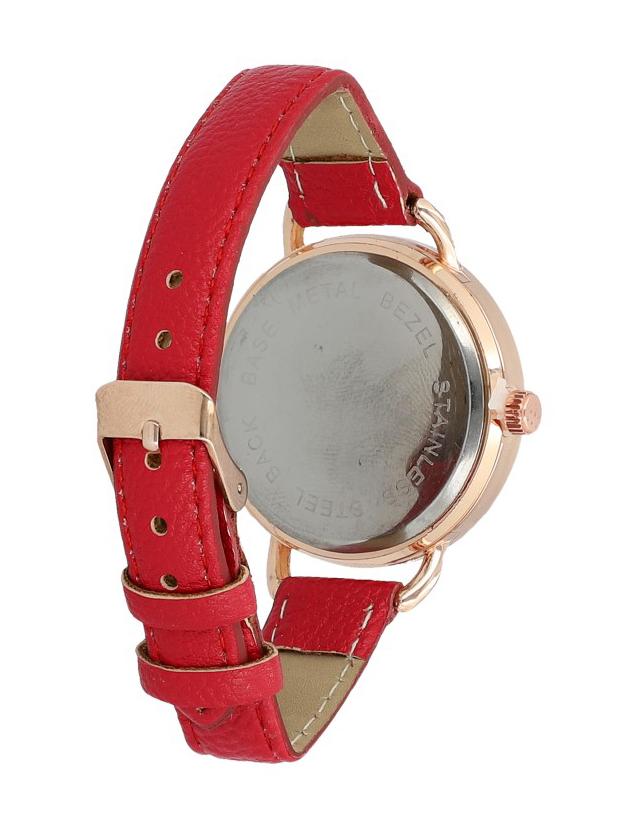 Červené náramkové dámske hodinky Giorgie TC19047