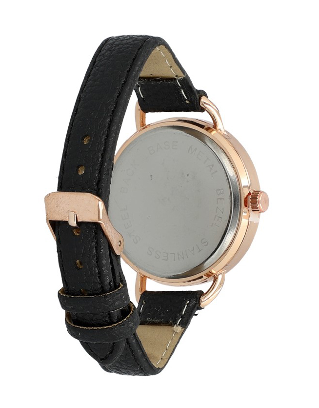 Černé náramkové dámské hodinky Giorgie TC19048