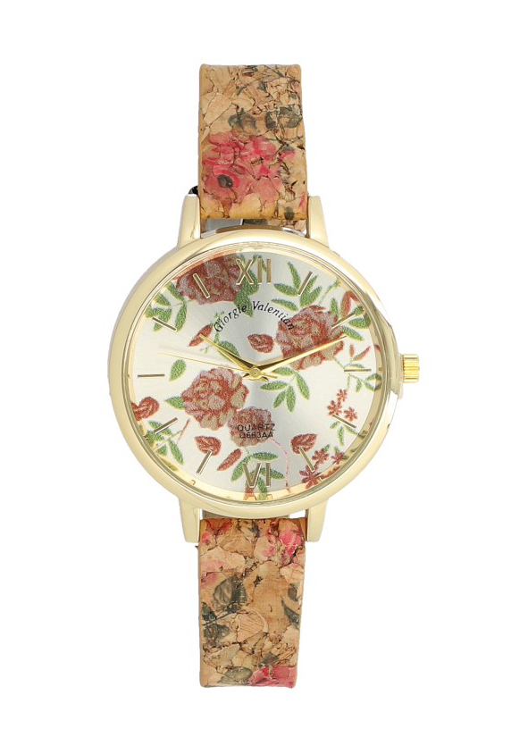 Korkové náramkové dámské hodinky Giorgie TC19067