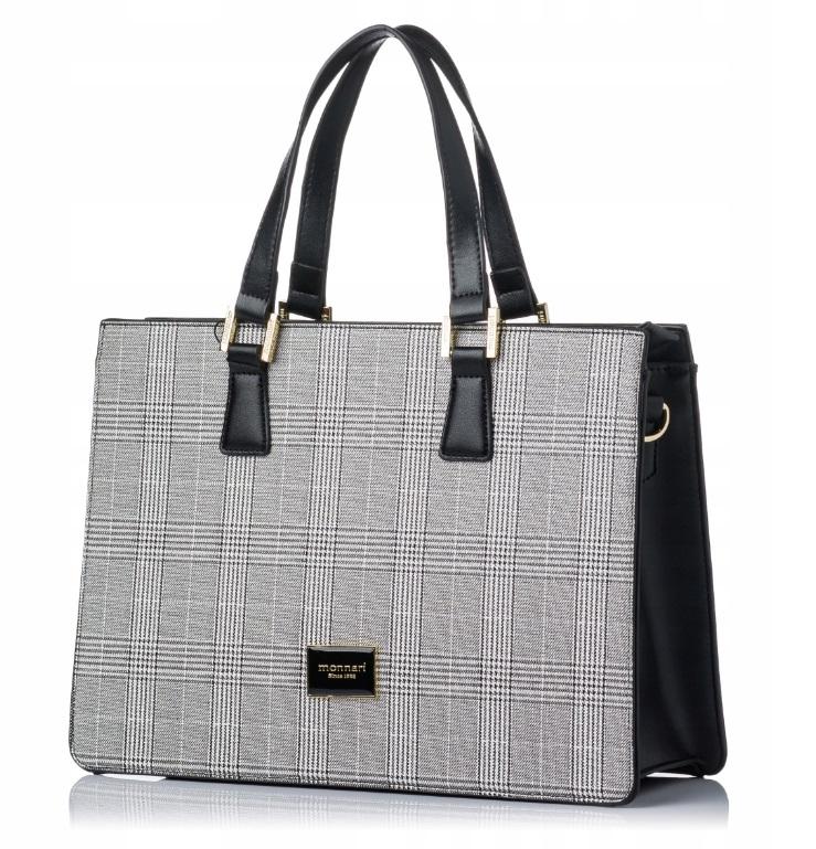 MONNARI Elegantní černá dámská kabelka 2990-013