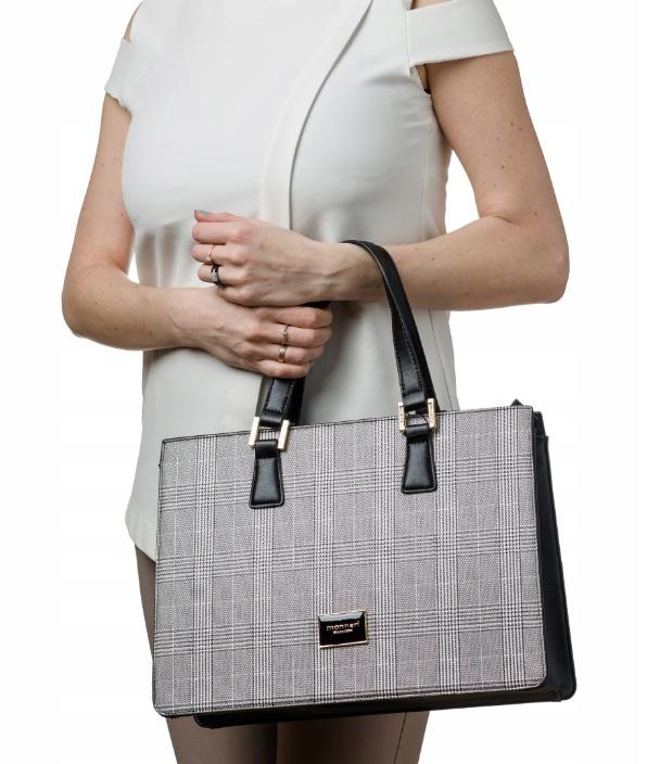 MONNARI Elegantná čierna dámska kabelka 2990-013