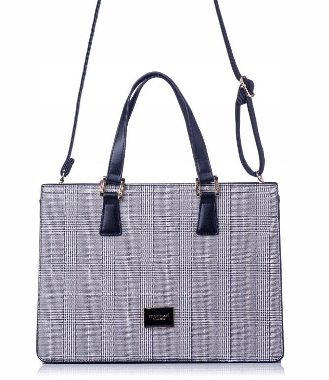 MONNARI Elegantní modrá dámská kabelka 2990-013