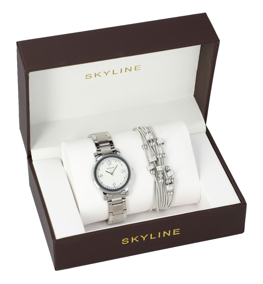 SKYLINE dámska darčeková sada hodinky s náramkom MP0010 ver2