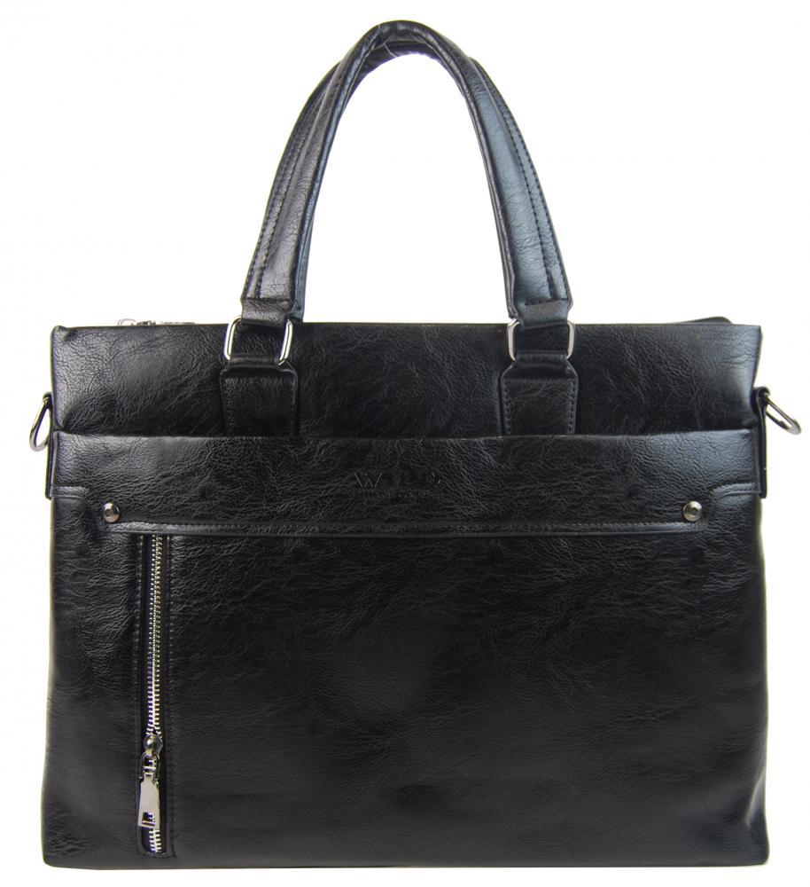 Černá pánská aktovková taška WILD