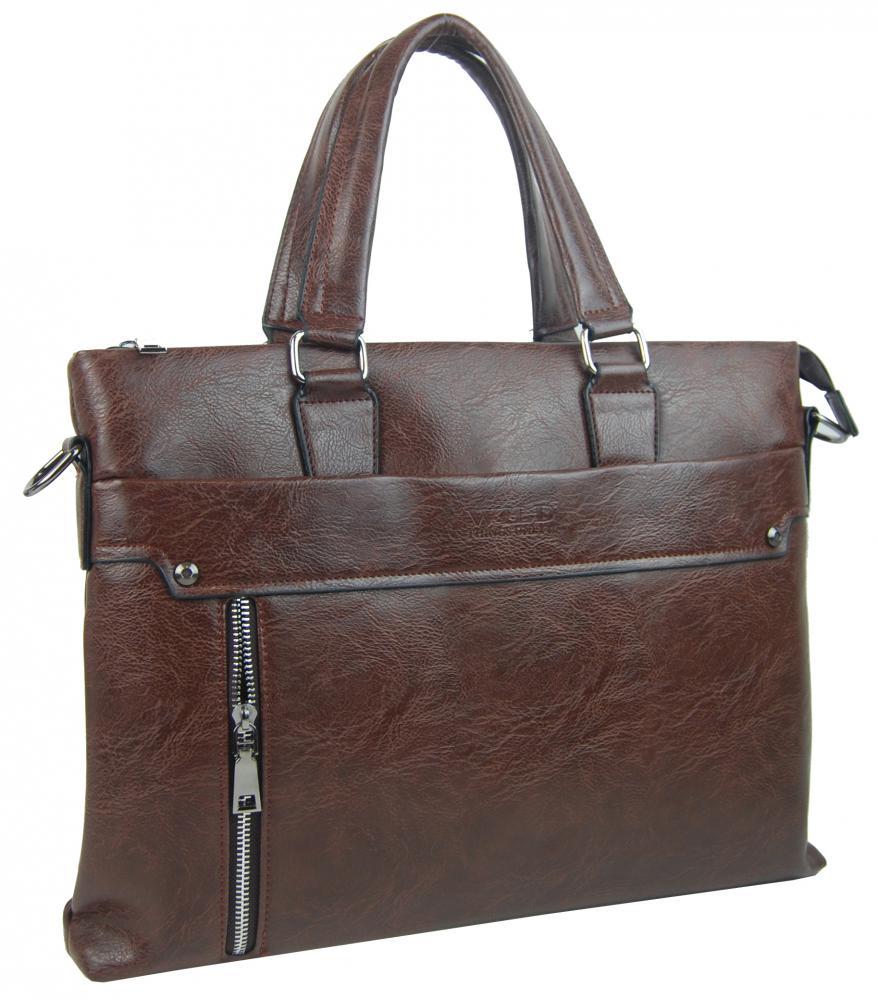 Hnedá pánska aktovková taška WILD