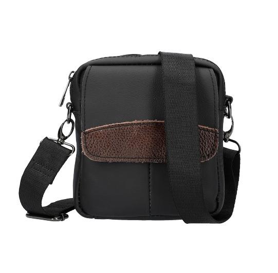 Menší pánská crossbody taška 1988-1 černá