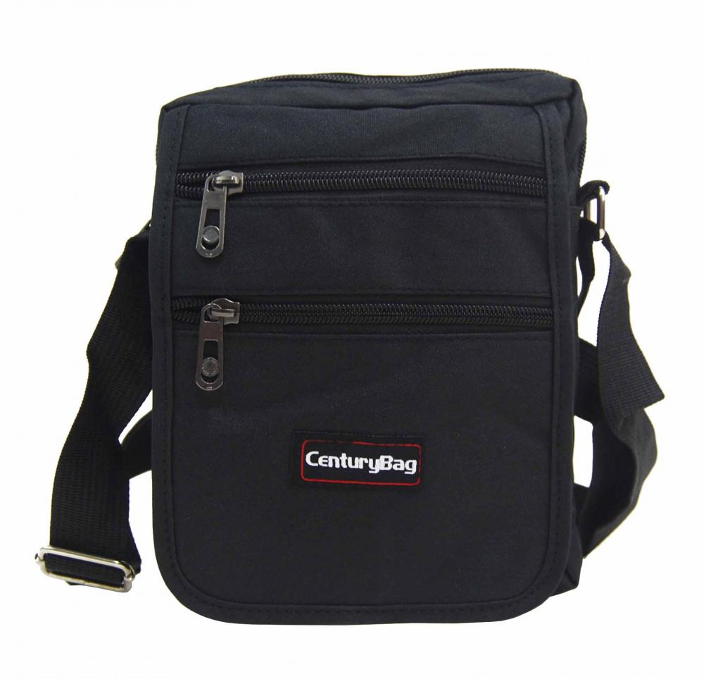 Černá pánská crossbody taška 18x20x7 cm CenturyBag 2920
