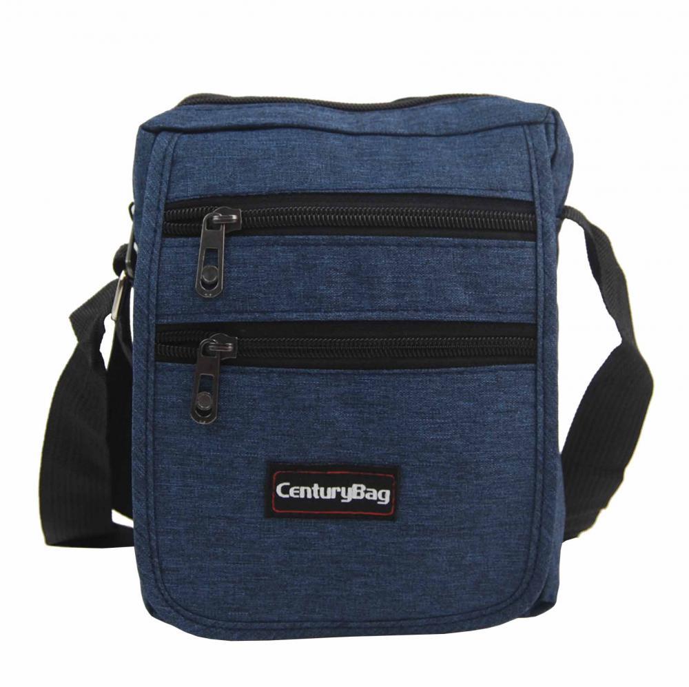 Modrá pánská crossbody taška 18x20x7 cm CenturyBag 2920