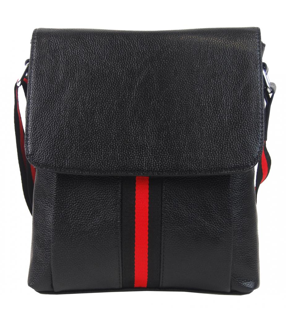Čierna pánska crossbody taška 4329-BB