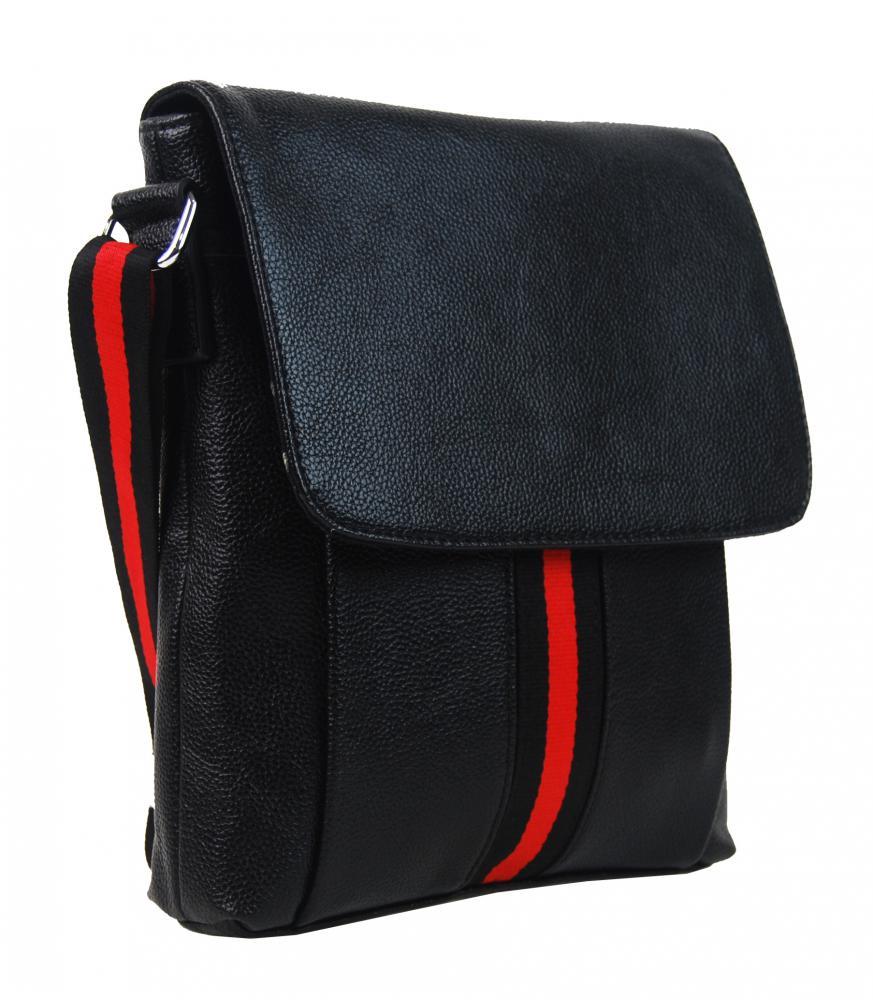 Černá pánská crossbody taška 4329-BB