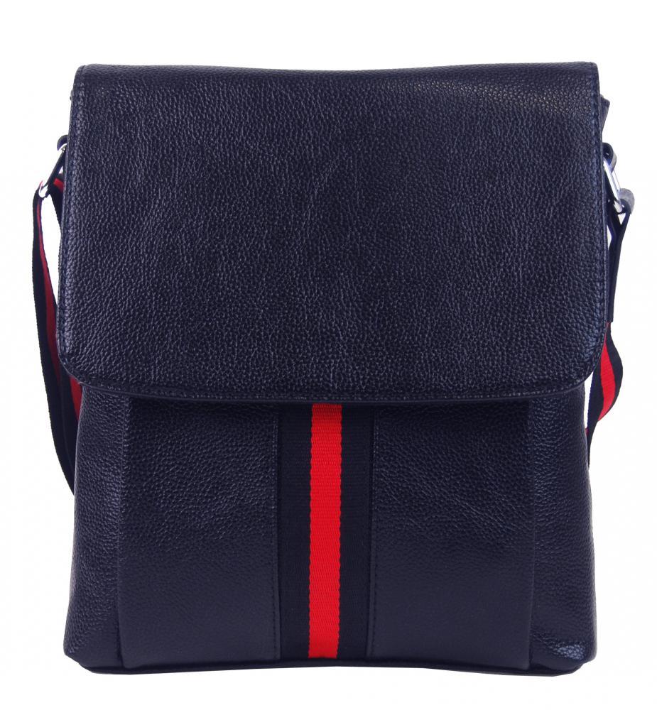 Tmavě modrá pánská crossbody taška 4329-BB