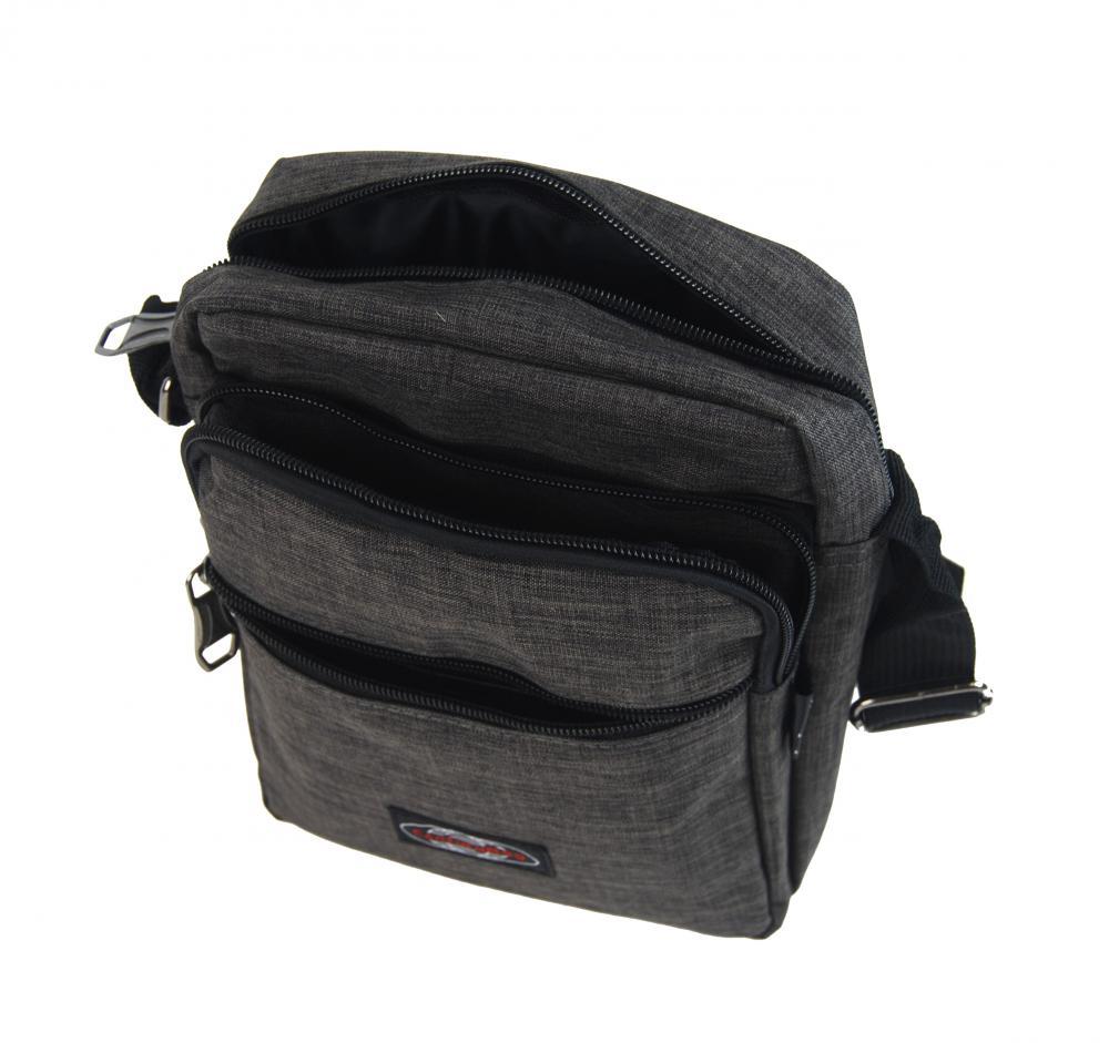 Menší pánská crossbody taška C1023 antracitová