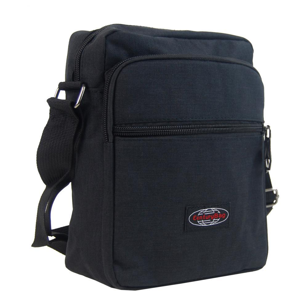 Menšia pánska crossbody taška C1023 čierna