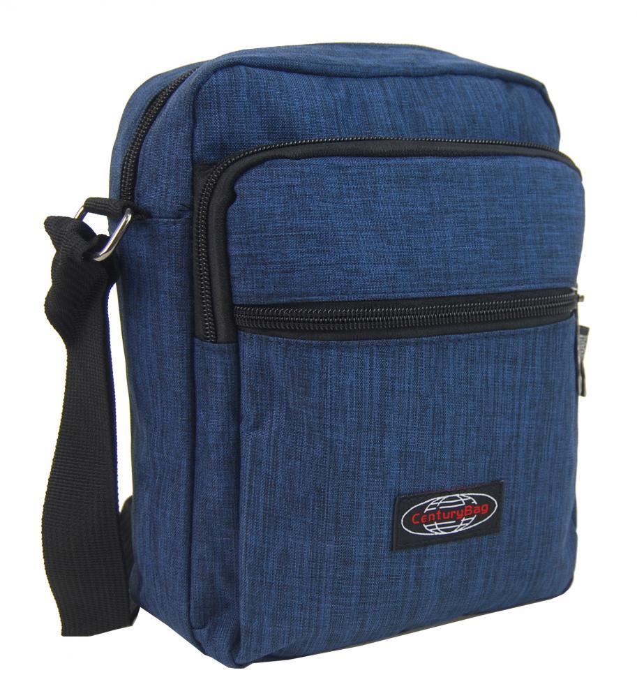 Menšia pánska crossbody taška C1023 modrá