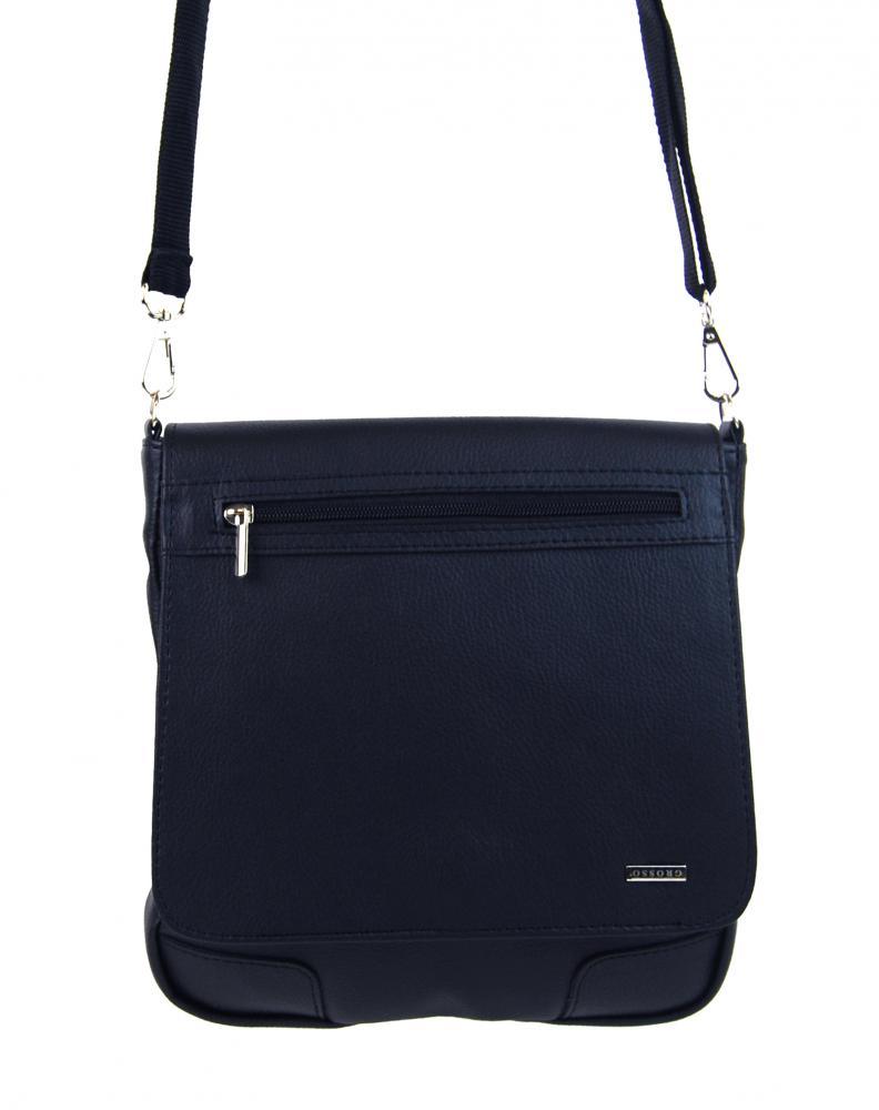 GROSSO modrá pánská crossbody taška