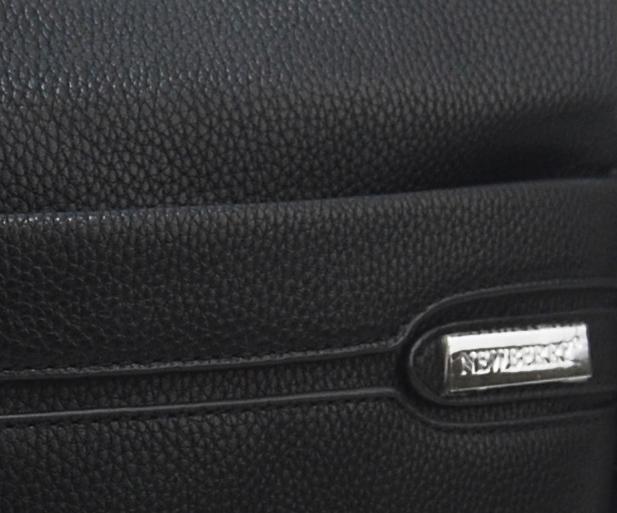 Pánska crossbody taška čierna NH8064