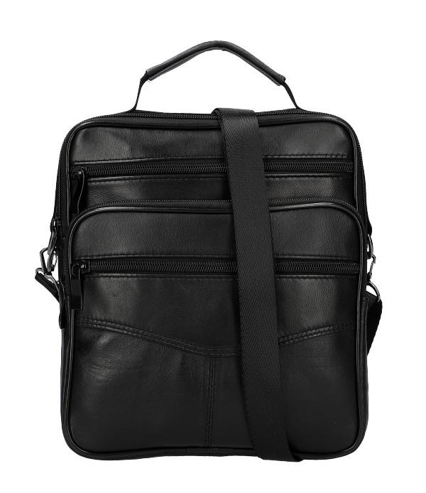 Černá pánská taška 23x25x6 cm